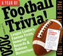 2020 a Year of Football Trivia! Page-A-Day Calendar - Book