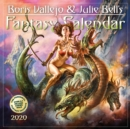 2020 Boris Vallejo & Julie Bells Fantasy Wall Calendar - Book