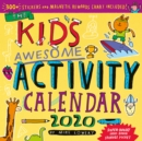 Kid's Awesome Activity Wall Calendar 2020 - Book