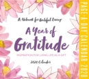 A Year of Gratitude Page-A-Day Calendar 2020 - Book