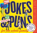 2020 290 Bad Jokes & 75 Punderful Puns Page-A-Day Calendar - Book