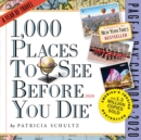 2020 1,000 Places to See Before You Die Colour Page-A-Day Calendar - Book