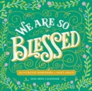 2020 We are So Blessed Mini Wall Calendar - Book