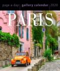 2020 Paris Page-A-Day Gallery Calendar - Book