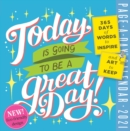 2021 Today is Going to be a Great Day! Colour Page-A-Day Calendar - Book