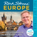 2021 Rick Steves Europe Colour Page-A-Day Calendar - Book