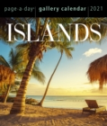 2021 Islands Page-A-Day Gallery Calendar - Book