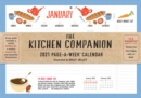2021 Kitchen Companion Page-A-Week Wall Calendar - Book
