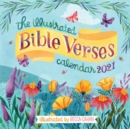 The Illustrated Bible Verses Wall Calendar 2021 - Book