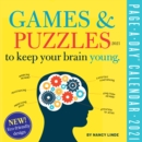 Games and Puzzles to Keep Your Brain Young Page-A-Day Calendar for 2021 - Book