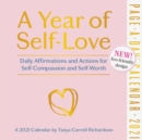 A Year of Self-Love Page-A-Day Calendar 2021 : Daily Affirmations and Actions for Self-Compassion and Self-Worth - Book