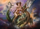 Boris Vallejo Fearless Rider 1,000-Piece Puzzle - Book