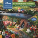 Thomas Kinkade Studios: Disney Dreams Collection 2019-2020 Square Family Calendar - Book