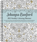 Johanna Basford 2021 Weekly Coloring Planner Calendar - Book
