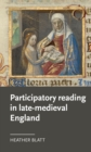 Participatory reading in late-medieval England - eBook