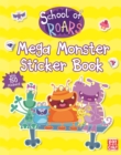 Mega Monster Sticker Book - Book