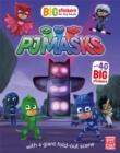PJ Masks: Big Stickers for Tiny Hands - Book