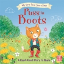 My Very First Story Time: Puss in Boots : Fairy Tale with picture glossary and an activity - Book