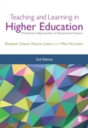 Teaching and Learning in Higher Education : Disciplinary Approaches to Educational Enquiry - Book