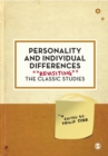 Personality and Individual Differences : Revisiting the Classic Studies - Book