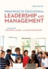 Principles of Educational Leadership & Management - Book