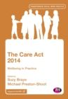 The Care Act 2014 : Wellbeing in Practice - Book