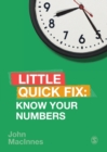 Know Your Numbers : Little Quick Fix - Book