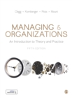 Managing and Organizations : An Introduction to Theory and Practice - Book
