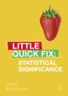 Statistical Significance : Little Quick Fix - eBook