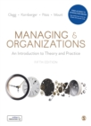 Managing and Organizations : An Introduction to Theory and Practice - eBook