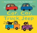 Car, Car, Truck, Jeep - Book