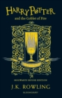 Harry Potter and the Goblet of Fire - Hufflepuff Edition - Book