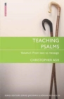 Teaching Psalms Vol. 1 : From Text to Message - Book