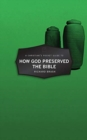 Christian's Pocket Guide to How God Preserved the Bible - Book