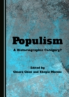 None Populism : A Historiographic Category? - eBook