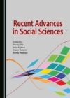 None Recent Advances in Social Sciences - eBook