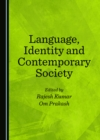 None Language, Identity and Contemporary Society - eBook