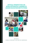 None Critical Perspectives on Work-Integrated Learning in Higher Education Institutions - eBook