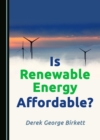 None Is Renewable Energy Affordable? - eBook