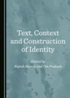 None Text, Context and Construction of Identity - eBook