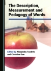 The Description, Measurement and Pedagogy of Words - eBook