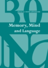 None Memory, Mind and Language - eBook