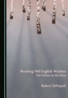 None Reading Old English Wisdom : The Fetters in the Frost - eBook
