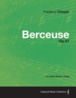 Berceuse Op.57 - For Solo Piano (1844) - eBook