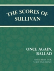 Sullivan's Scores - Once Again, Ballad - Sheet Music for Voice and Piano - eBook