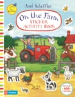 On The Farm Sticker Activity Book - Book
