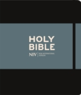 NIV Journalling Black Hardback Bible - Book