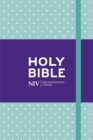 NIV Pocket Mint Polka-Dot Notebook Bible - Book