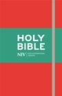 NIV Thinline Red Soft-tone Bible - Book