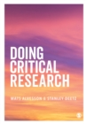 Doing Critical Research - eBook